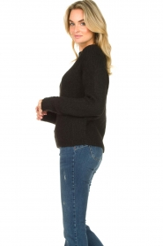 Set |  Knitted sweater Peony | black  | Picture 5