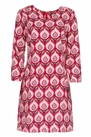 Silvian Heach |  Printed dress Takamatu | pink  | Picture 1