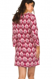 Silvian Heach |  Printed dress Takamatu | pink  | Picture 5