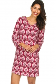 Silvian Heach |  Printed dress Takamatu | pink  | Picture 2