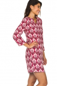 Silvian Heach |  Printed dress Takamatu | pink  | Picture 4