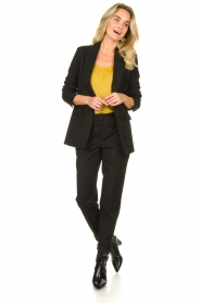 Set |  Chino trousers Clair | black  | Picture 2
