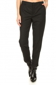 Set |  Chino trousers Clair | black  | Picture 4