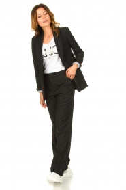 Set |  Palazzo trousers Grace | black  | Picture 3