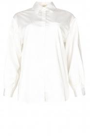 Kocca    Cotton blouse Fiorella   white     Picture 1