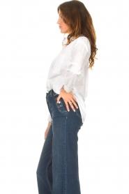 Kocca    Cotton blouse Fiorella   white     Picture 5