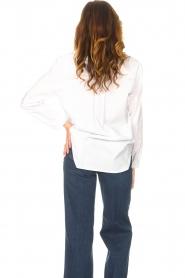Kocca    Cotton blouse Fiorella   white     Picture 6