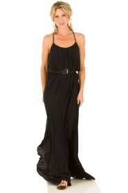 Maxi dress Majella | black