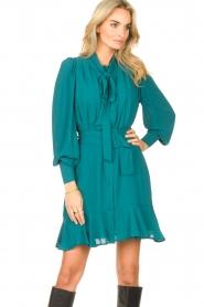 Kocca    Dress with matching belt Belinda   green    Picture 4