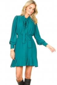 Kocca    Dress with matching belt Belinda   green    Picture 5
