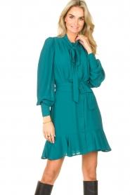 Kocca    Dress with matching belt Belinda   green    Picture 2