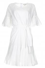 Silvian Heach |  Dress with ruffles Akhiok | white  | Picture 1