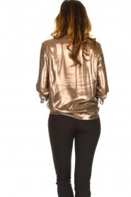 Set |  Metallic blouse Disco | metallic  | Picture 6