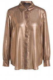 Set |  Metallic blouse Disco | metallic  | Picture 1