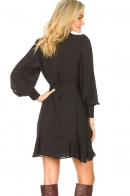 Kocca |  Dress with matching belt Belinda | black  | Picture 7