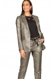 Set |  Metallic blazer Danino | metallic  | Picture 4