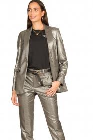 Set |  Metallic blazer Danino | metallic  | Picture 2