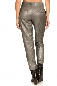 Set |  Metallic chino trousers Danino | metallic  | Picture 7