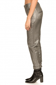 Set |  Metallic chino trousers Danino | metallic  | Picture 6