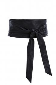 Set |  Wrap belt Rebon | black  | Picture 1