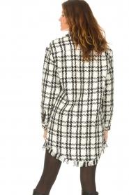 Kocca |   Blouse dress with lurex Adofo | black  | Picture 6