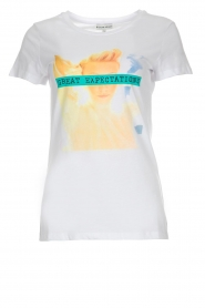 Silvian Heach |  Cotton T-shirt with print  | Picture 1