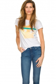Silvian Heach |  Cotton T-shirt with print  | Picture 3
