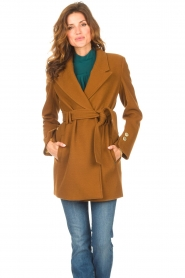 Kocca |  Short cloak Flot | brown  | Picture 2