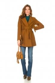 Kocca |  Short cloak Flot | brown  | Picture 3