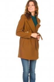 Kocca |  Short cloak Flot | brown  | Picture 5