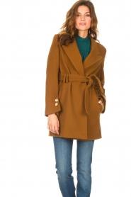 Kocca |  Short cloak Flot | brown  | Picture 6