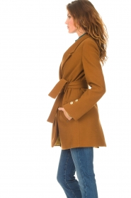 Kocca |  Short cloak Flot | brown  | Picture 7