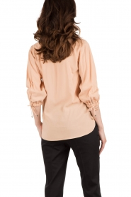 Wrapped top Assisa | nude