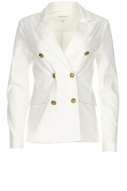 Silvian Heach |  Blazer with decorative buttons Windami | white  | Picture 1