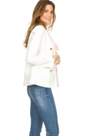 Silvian Heach |  Blazer with decorative buttons Windami | white  | Picture 4