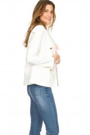 Silvian Heach | Blazer met decoratieve knopen Windami | wit  | Afbeelding 4