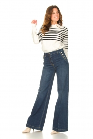 Kocca |  Flared jeans Rooney | blue  | Picture 3