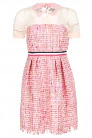 Atos Lombardini | Bouclé jurk Rosa | Roze  | Afbeelding 1