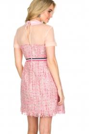 Atos Lombardini | Bouclé jurk Rosa | Roze  | Afbeelding 4