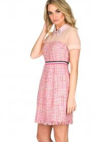Atos Lombardini | Bouclé jurk Rosa | Roze  | Afbeelding 2