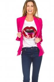 Silvian Heach |  Blazer Akutan | pink  | Picture 2