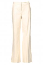 Kocca |  Flared trousers Rashmi | natural  | Picture 1