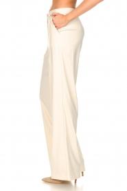 Kocca |  Flared trousers Rashmi | natural  | Picture 5