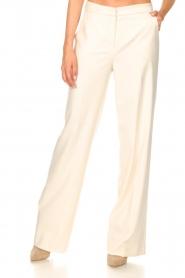 Kocca |  Flared trousers Rashmi | natural  | Picture 4