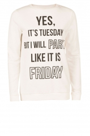 Sweater Yes It's Tuesday | white