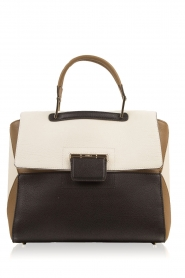 Leather shoulder bag Artesia M | multi