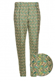 Silvian Heach |  Trousers with print Samut | multi  | Picture 1