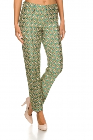 Silvian Heach |  Trousers with print Samut | multi  | Picture 3