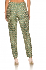 Silvian Heach |  Trousers with print Samut | multi  | Picture 5