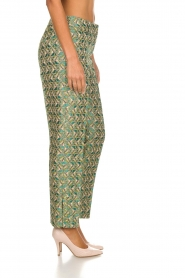 Silvian Heach |  Trousers with print Samut | multi  | Picture 4